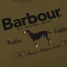 Мужская футболка Barbour Country Mid Olive фото- 2