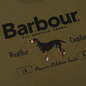 Мужская футболка Barbour Country Mid Olive фото - 2