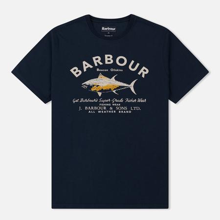 Мужская футболка Barbour Country Navy