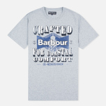 Barbour Craft Tower Men's T-shirt Grey Marl photo- 0