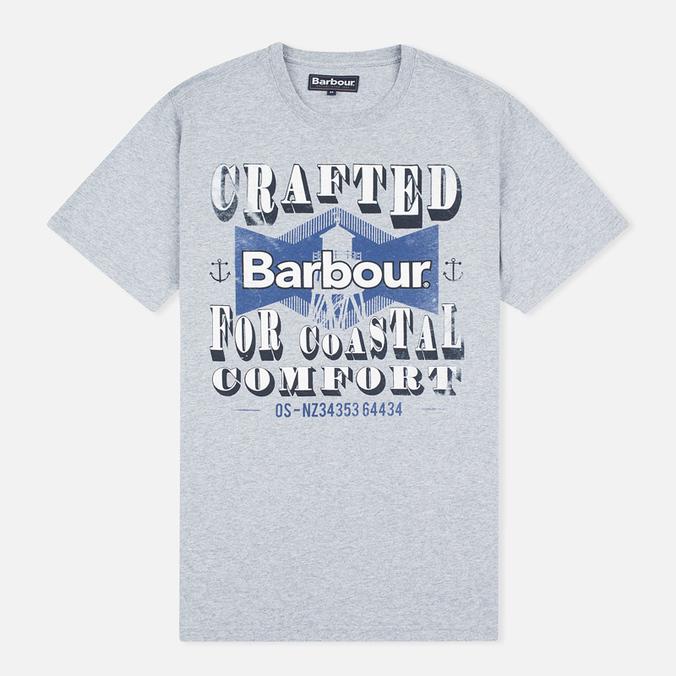 Мужская футболка Barbour Craft Tower Grey Marl
