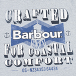 Barbour Craft Tower Men's T-shirt Grey Marl photo- 2