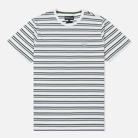 Мужская футболка Barbour Duxford Stripe White