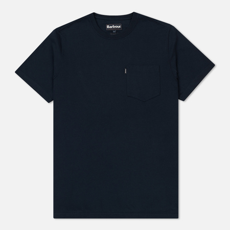 Мужская футболка Barbour Essential Pocket Navy