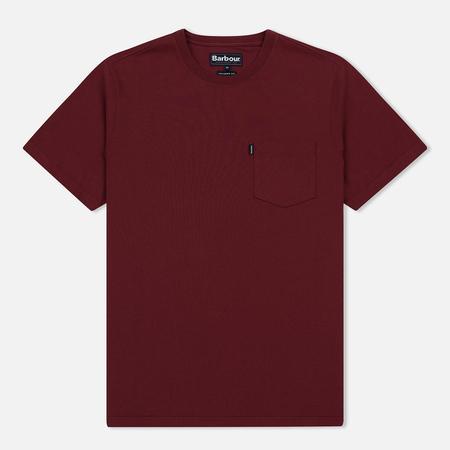 Мужская футболка Barbour Essential Pocket Ruby