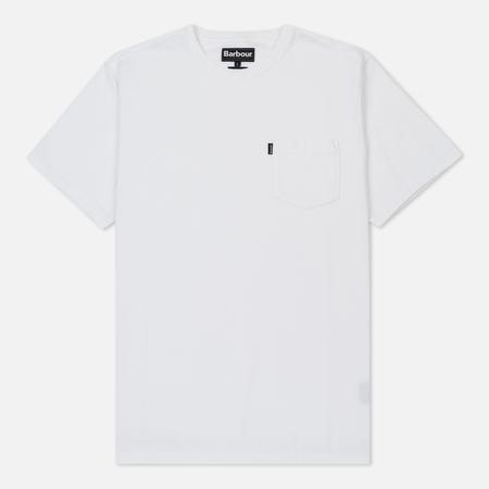Мужская футболка Barbour Essential Pocket White