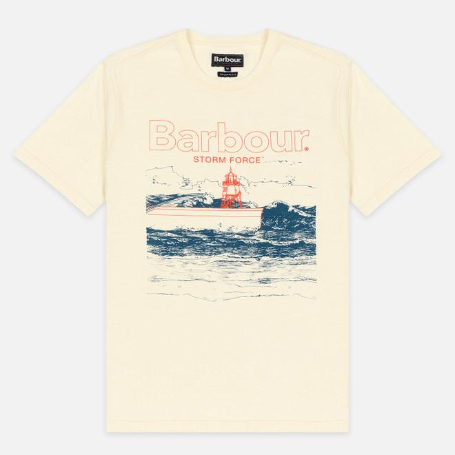 Мужская футболка Barbour Fareland Off White