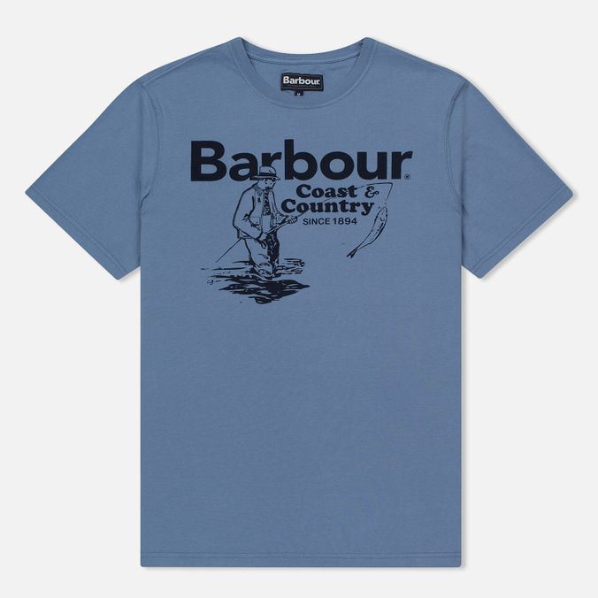 Мужская футболка Barbour Fisherman Admiral Blue