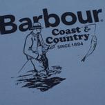 Мужская футболка Barbour Fisherman Admiral Blue фото- 2