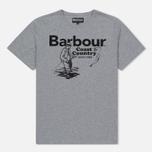 Мужская футболка Barbour Fisherman Grey Marl фото- 0