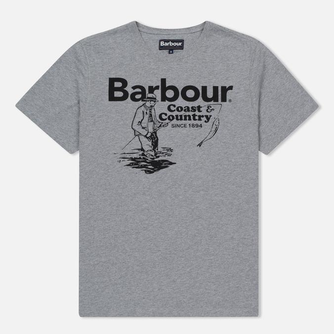 Мужская футболка Barbour Fisherman Grey Marl