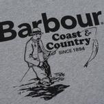 Мужская футболка Barbour Fisherman Grey Marl фото- 2