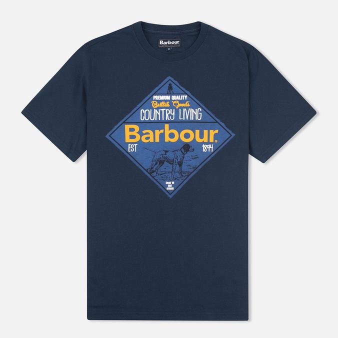 Мужская футболка Barbour Gundog Navy
