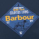 Мужская футболка Barbour Gundog Navy фото- 2
