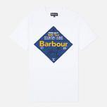 Мужская футболка Barbour Gundog White фото- 0