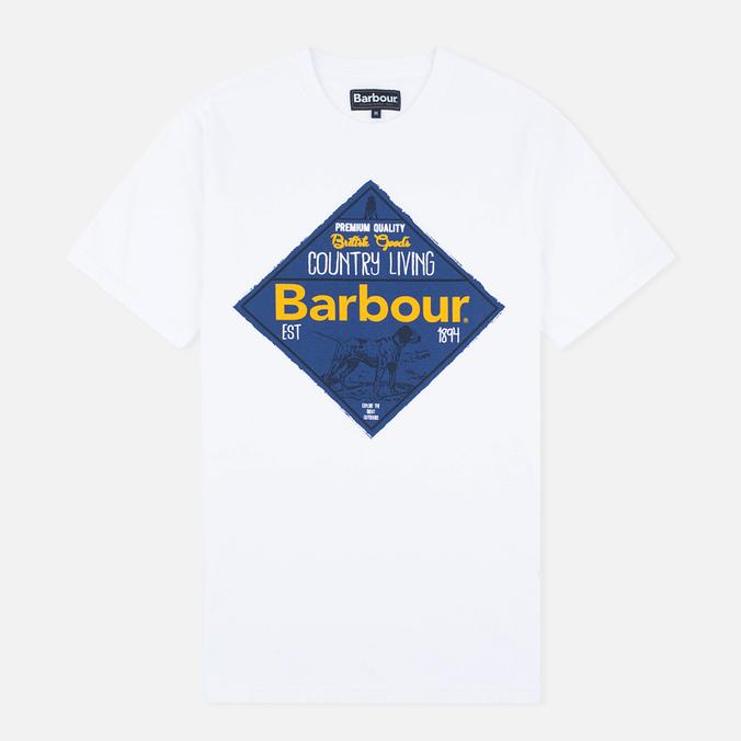 Мужская футболка Barbour Gundog White