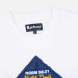 Мужская футболка Barbour Gundog White фото- 1