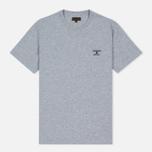 Мужская футболка Barbour Heritage Standards Grey Marl фото- 0