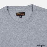 Мужская футболка Barbour Heritage Standards Grey Marl фото- 1
