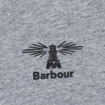 Мужская футболка Barbour Heritage Standards Grey Marl фото- 2