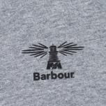 Мужская футболка Barbour Heritage Standards Grey Marl фото- 2