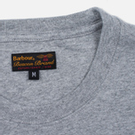 Мужская футболка Barbour Heritage Standards Grey Marl фото- 3