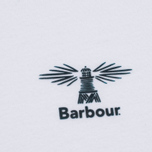 Мужская футболка Barbour Heritage Standards White фото- 2