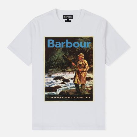 Мужская футболка Barbour Historic White