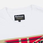 Мужская футболка Barbour International 1936 White фото- 1