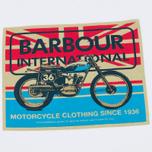Мужская футболка Barbour International 1936 White фото- 2
