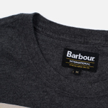 Мужская футболка Barbour International Adventure Charcoal фото- 2