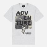 Barbour International Adventure Men's T-shirt Ice Marl photo- 0