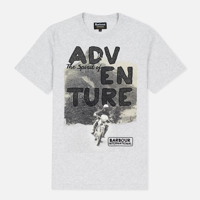 Barbour International Adventure Men's T-shirt Ice Marl