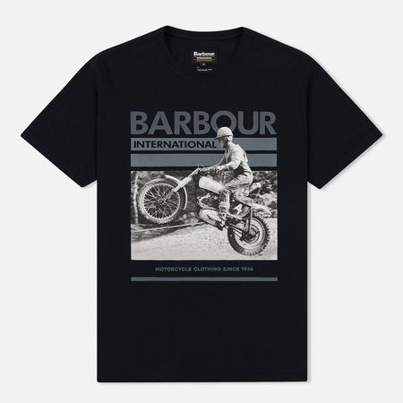 Мужская футболка Barbour International Archive Black