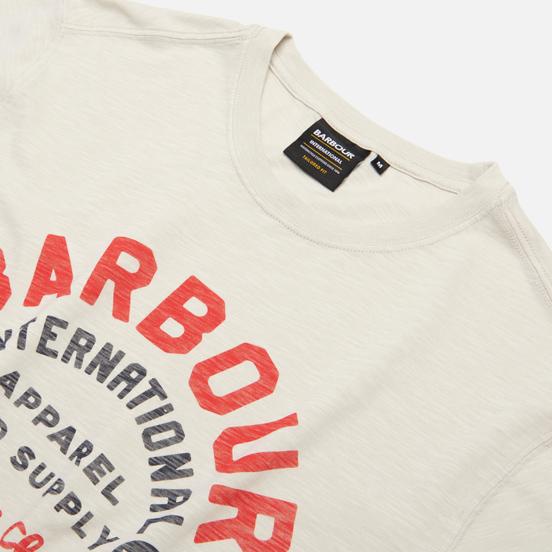 Мужская футболка Barbour International Device Cloud White
