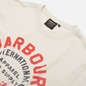 Мужская футболка Barbour International Device Cloud White фото - 1