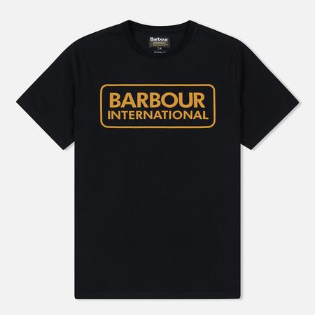 Мужская футболка Barbour International Essential Large Logo Black