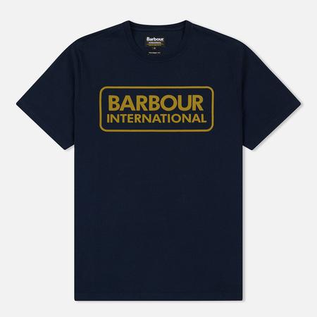 Мужская футболка Barbour International Essential Large Logo Navy
