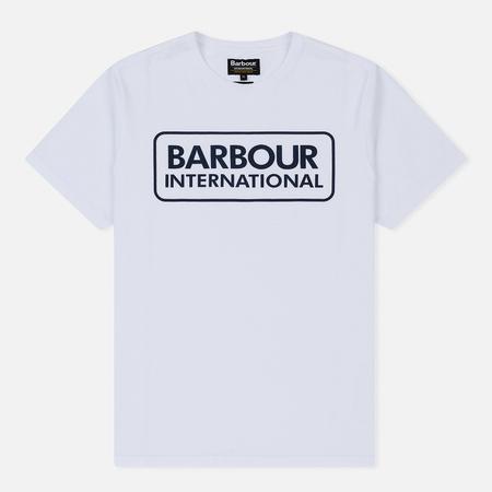 Мужская футболка Barbour International Essential Large Logo White