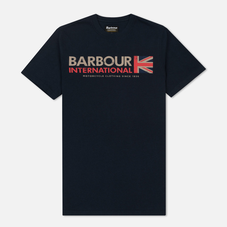 Мужская футболка Barbour International Flag Navy