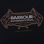 Мужская футболка Barbour International Flags Black фото- 3