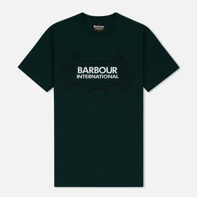 Мужская футболка Barbour International Flags Seaweed