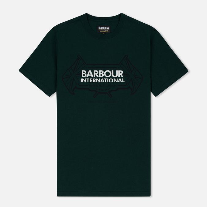 Barbour International Flags Men's T-shirt Seaweed