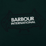 Мужская футболка Barbour International Flags Seaweed фото- 2