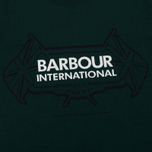 Barbour International Flags Men's T-shirt Seaweed photo- 2