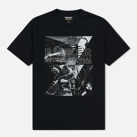Мужская футболка Barbour International Frame Black