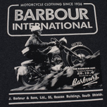 Barbour International Hill Men's T-shirt Climb Charcoal photo- 2