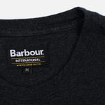 Barbour International Hill Men's T-shirt Climb Charcoal photo- 3