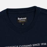 Barbour International Hill Men's T-shirt Climb Navy photo- 1