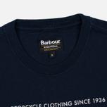 Мужская футболка Barbour International Hill Climb Navy фото- 1